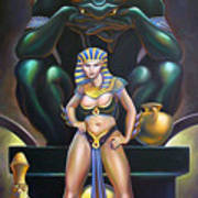 Isis And Osiris Art Print