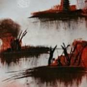 Islands In The Steam  Art Print