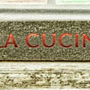 Italian Cooking Art Print