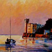 Italy - Trieste Gulf Art Print