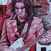 Jack White Art Print by Joshua Morton