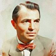 James Mason, Vintage Movie Star Art Print