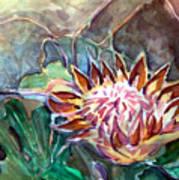 Japanese Flower Arrangement Art Print
