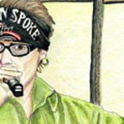 Jay Allen At The Broken Spoke Saloon Art Print
