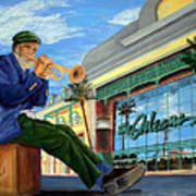 Jazz At The Orleans Art Print