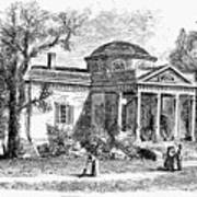 Jefferson: Monticello Art Print by Granger