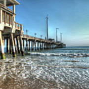 Jennettes Pier Nags Head North Carolina Art Print
