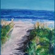 Jersey Shore Dunes Art Print