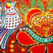 Jinga Bird Art Print