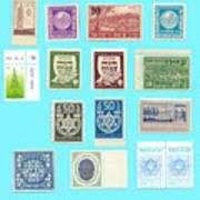 Jnf Stamps  Art Print