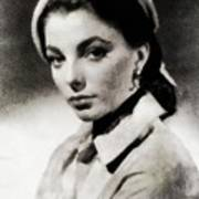 Joan Collins, Actress Art Print