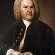 Johann Sebastian Bach, German Baroque Art Print