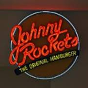 Johnny Rockets Art Print