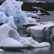 Jokulsarlon Glacier Lagoon Iceland 2431 Art Print