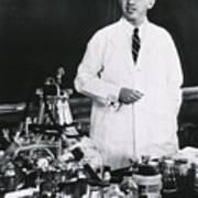 Jonas E. Salk 1914-1995, American Art Print