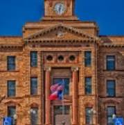 Jones County Courthouse Art Print