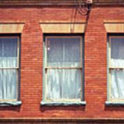 Jonesborough Tennessee Three Windows Art Print