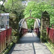 Jubilee Bridge - Matlock Bath Art Print