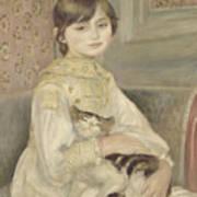 Julie Manet Art Print