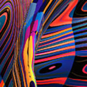 Kaleido-fa-callig. 10x11m37 Wide 11i Art Print