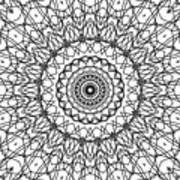 Kaleidoscope 706 Art Print