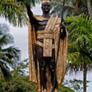 Kamehameha The Great Art Print