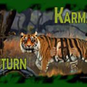 Karmas Return Art Print