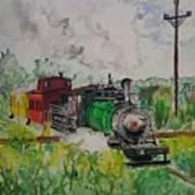 Kettle Moraine Train Art Print