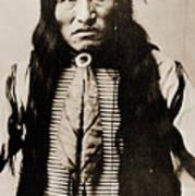 Kicking Bear Indian Chief Art Print