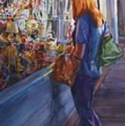 King Street Reflections Art Print