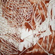 Kiss - Tile Art Print