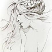 Kiss Of Wind Art Print