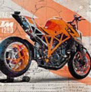 Ktm 1290 Super Duke R Art Print