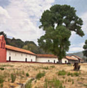 La Purisima Mission II Art Print
