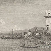 La Torre Di Malghera Art Print