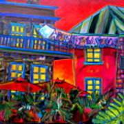 La Villita Entrance Art Print by Patti Schermerhorn