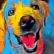 Labrador Retriever 2 Art Print
