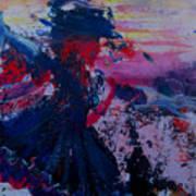 Lady Of La Mancha Dances Art Print by Penfield Hondros