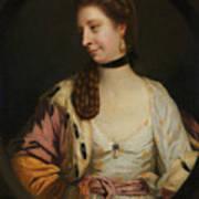 Lady Sondes Art Print