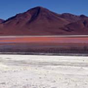 Laguna Colorada And Mountains Art Print