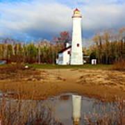 Lake Huron Lighthouse Art Print