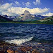 Lake Sherburne, Glacier National Park Art Print