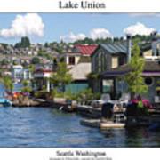 Lake Union Art Print