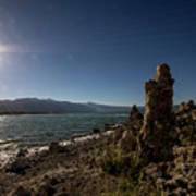 Lakefront And Sunset At Mono Lake, Eastern Sierra, California, U Art Print