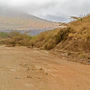 Landscape Near Marsabit, Kenya Art Print