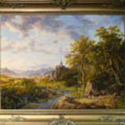 Landscape With Castle Art Print