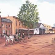 Laurens Street 1890 Art Print