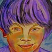Le Manga Boy Art Print