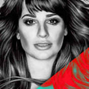 Lea Michele Collection Art Print