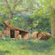 Leftover Hay Art Print